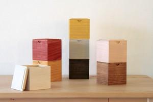 「風味をやさしく包み込む」桐Tea Box (cube)