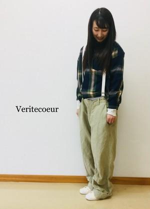 【veritecoeur 】サスペンダーパンツ/vc-1662