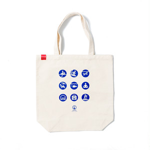 キャンバスベーシックトートバッグ - M