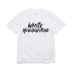 "PRINTED T-SHIRT ""WHITE MOUNTAINEERING"" - WHITE"