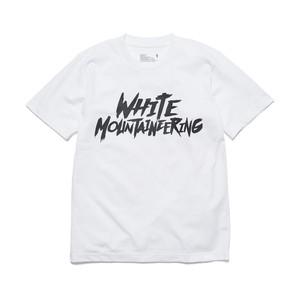 "PRINTED T-SHIRT ""WHITE MOUNTAINEERING"" - WHITE"