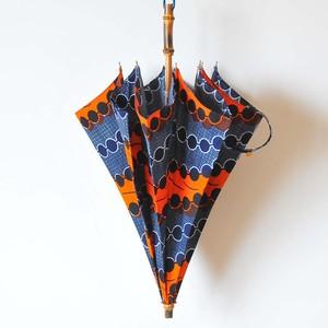Bon Bon Store アフリカンバティック長傘(竹 009)
