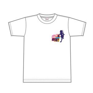最強Tシャツ「ワンポイントシルエット」