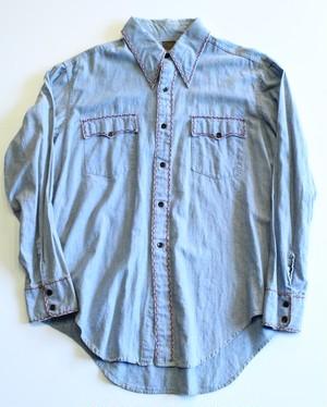 1970's Vintage Chambray shirt