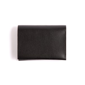 Postalco/Pressed Cotton Card & Coin Wallet/Black
