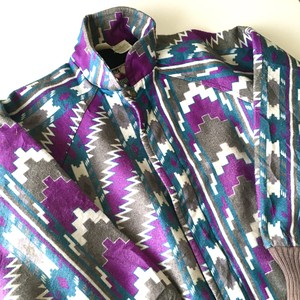 Walls : native pattern blouson (used)