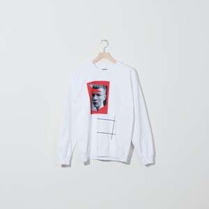 DUST FACE WHITE LONGSLEEVES SHIRT