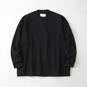 LOOPWHEELER × WM CREW SWEAT - BLACK