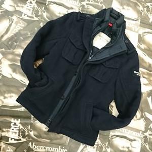 Abercrombie&Fitch  メンズウールジャケットLサイズ
