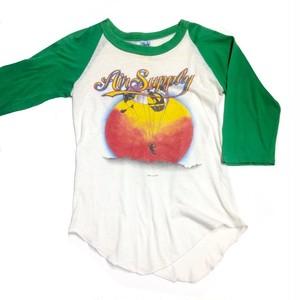 ラグランTシャツ/Air supply 1982 tour   【古着】