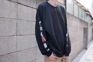 "NER×OOTSUMOENO ""vintage junk art music comic"" sweatshirt"