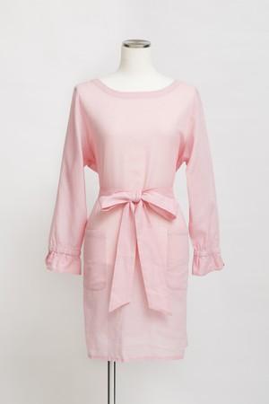 SEIREN-COTTON&LINEN-/pink(TT1918-91)