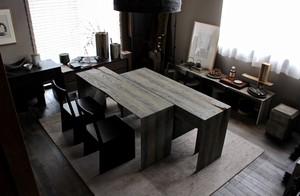 浮様M Table (W1500 D900 H700)