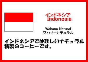 インドネシア(Indonesia)・ワハナ(Wahana)・ナチュラル(Natural) 中煎り 200g