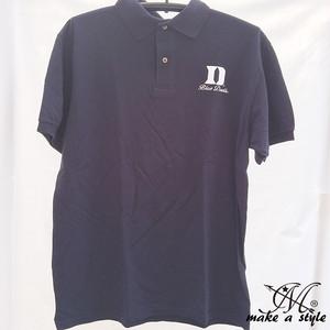 Duke デューク ブルーデビルズ ポロシャツ 半袖 M L XL B系 ストリート系 ヒップホップ ギャング マフィア スケーター パンク ロック sk8 バイカー 西海岸 425