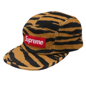 SUPREME:WOOL CAMP CAP TIGER STRIPE