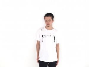 GANMI ロゴTシャツ