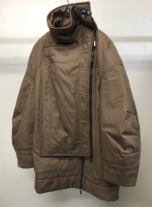 CHALAYAN LAYER PADDED JACKET MUSHROOM