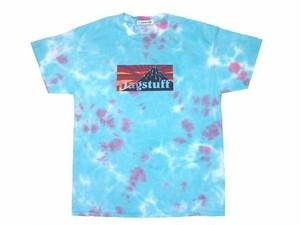 "F-LAGSTUF-F ""BOX LOGO""Tee TIEDYE BLUE"