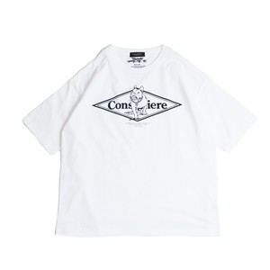 Consigliere Garments/コンシリエーレガーメンツ Gabo T-shirt type-A White