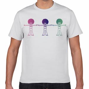 ディスタンスA Tシャツ[白]
