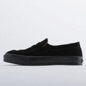 PRAS-COMFY LOAFERS  BLACK SUEDE