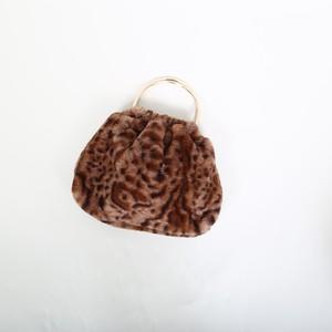 Fur Handle Bag