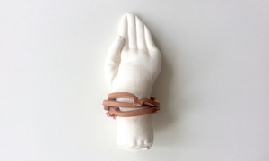 フーコ Cow Leather Bangle <triple>
