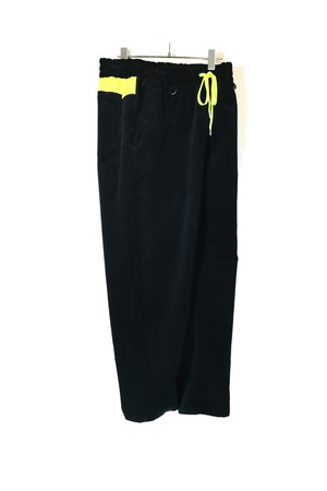 Wide Tapered Easy Pants BLACK