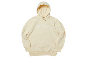 WHIMSY / SCRIPT ARC LOGO PULLOVER -NATURAL-