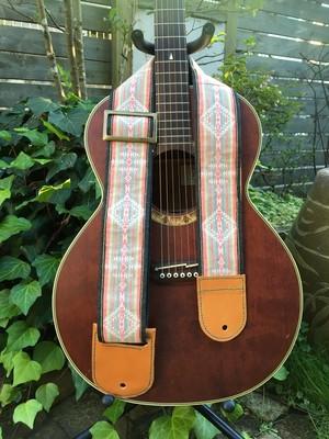 Ortega's guitar strap (rasta)