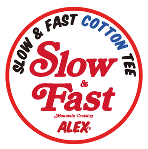 """ SLOW & FAST (Mountain Cruising) ""TEE COTTON(LIMITED EDITION??)"