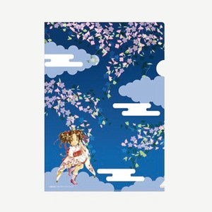 クリアファイル/夜桜