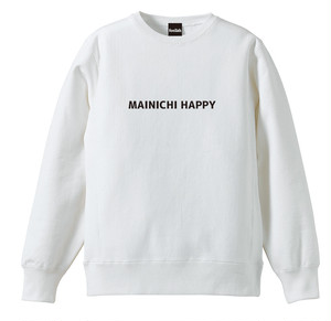 MAINICHI HAPPY トレーナー
