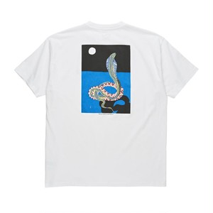 POLAR / MIDNIGHT SNAKE TEE WHT / M