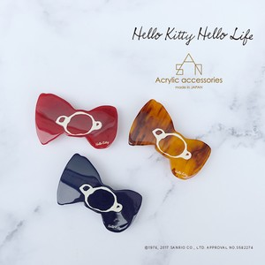 Hello Kitty Hello Life  リボンバレッタ