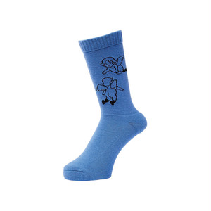 WHIMSY - 32/1 FLANDERS SOCKS (Royal)