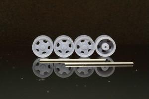 8.5mm エリート フローレンスター タイプ 3Dプリント ホイール 1/64 未塗装