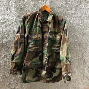 80's US ARMY ウッドランドカモ 迷彩ジャケット 米軍 ミリタリー 表記XSサイズ