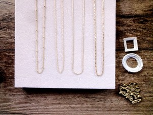 【ARNOLDシリーズ】Necklace■14KGF■Normal Chain 40~100cm