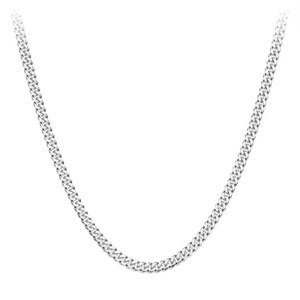 Miami Chain Link Necklace 【3mm/SILVER】