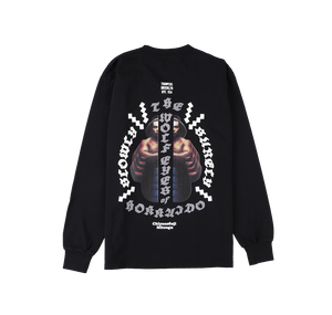 Chiyonofuji L/S Tee (BLACK)[TH9SWOLF-005]