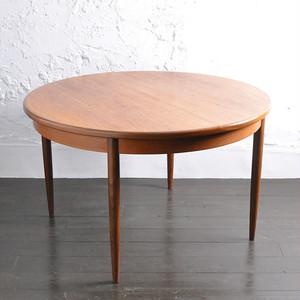【ご予約受付中】G-Plan Round EX Table / ジープラン ラウンド エクステンション テーブル / 1806-0015