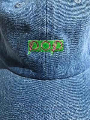 P.O.P CAP デニム