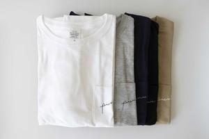 【送料無料】ビックシルエットのポケットTシャツ