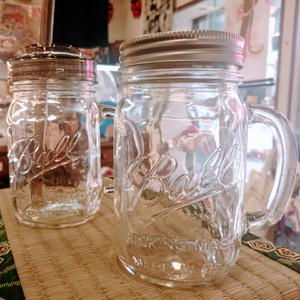 BALL Drinking Mason  Jars with Handle(16OZ)