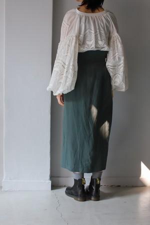 【SALE】REKISAMI / green skirt