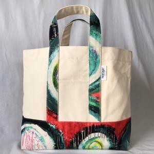 キャンバストートバッグ「抑制のリミット」