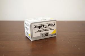 【モノクロネガフィルム 35mm】ARISTA(アリスタ) ARISTA.EDU ULTRA100 36枚撮り