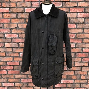 1980s Belstaff Country Style Wax Cotton Jacket Made In England